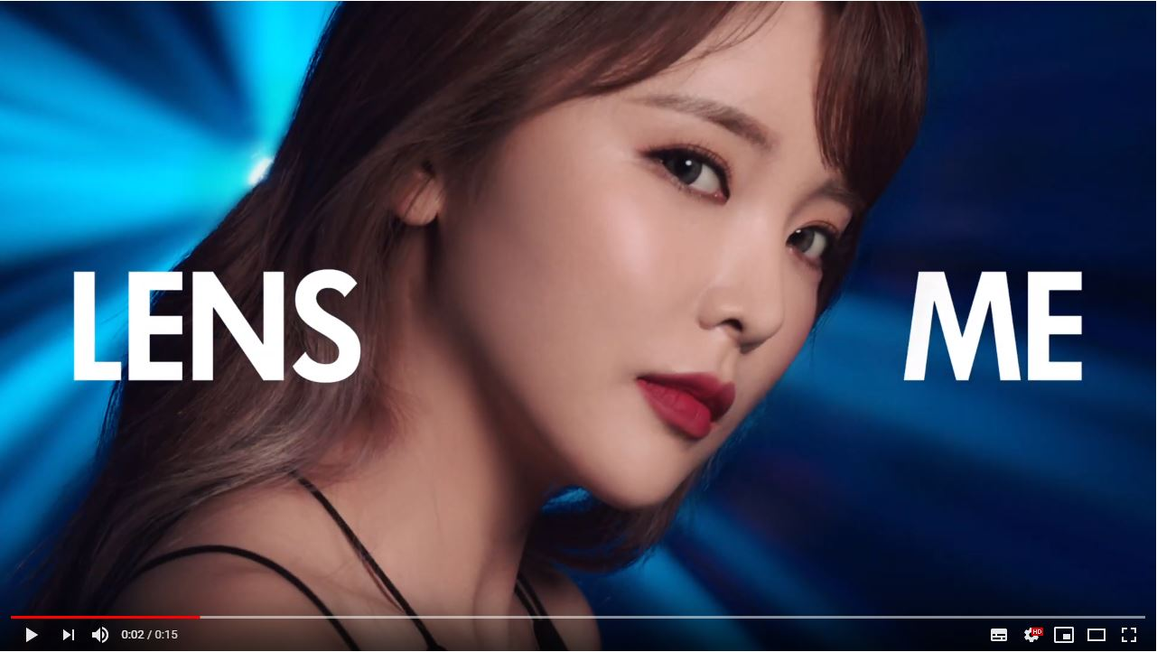 ★making film. LENS ME X HONG JIN YOUNG