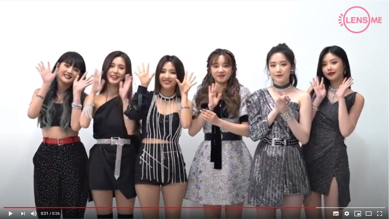 ★LENS ME X (G)I-DLE INTERVIEW